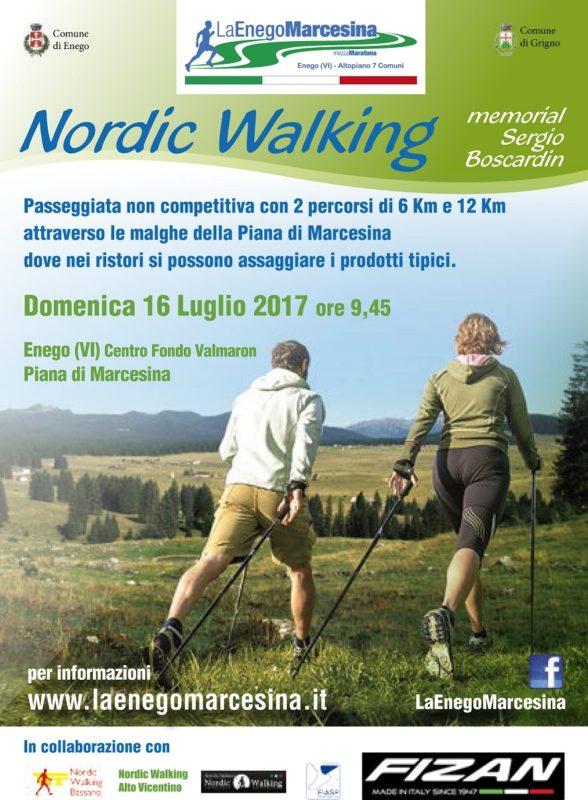 La Enego Marcesina | SCUOLA NORDIC WALKING BASSANO